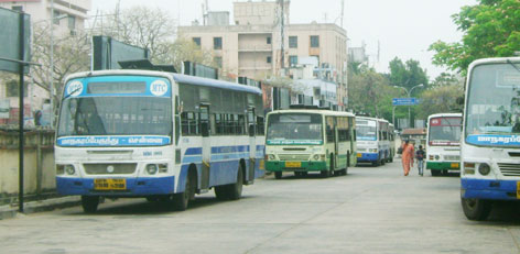 The Erstwhile Bus Route 47a Which Extended From Besant Nagar To Icf Was Changed To Route 47 Which Now Extends From The Besant Nagar Depot To Villiv M