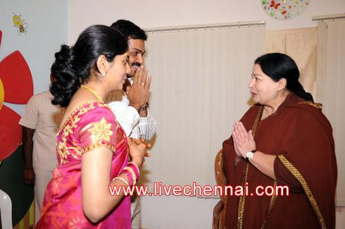 Live Chennai: CM Visits Karthi-Ranjini ,Tamil Nadu Chief