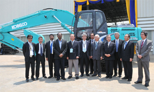 Live Chennai: Kobelco unveils manufacturing unit near Chennai