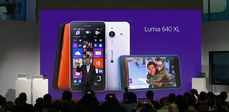 Live Chennai: Microsoft launched Lumia 640, 640 XL ...