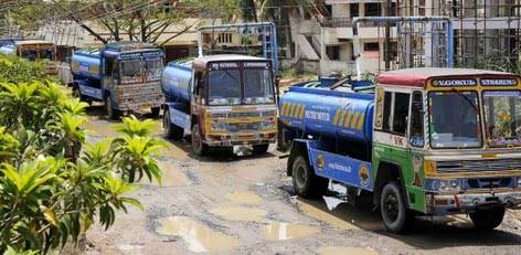 Live Chennai: Long waits for drinking water after booking,Long waits