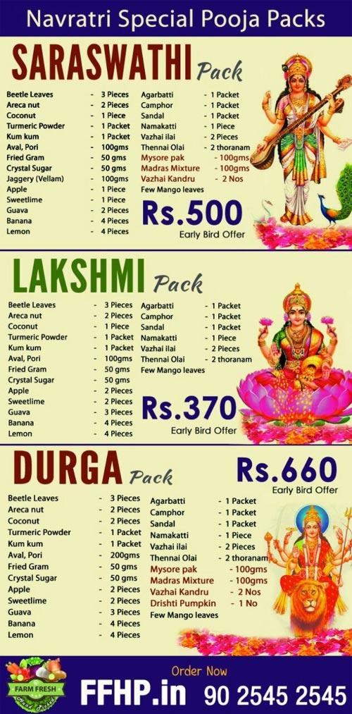 Sovereign Foods Price List