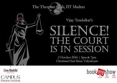 silence the court is in session