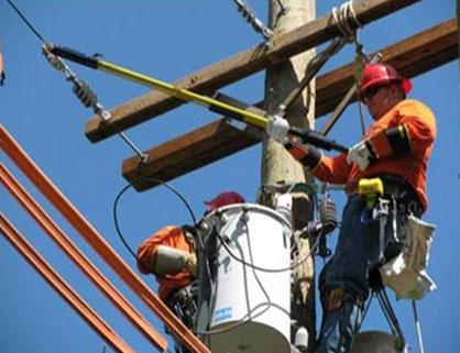 Live Chennai Distribution Overhead Lines Construction