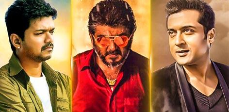 Live Chennai: Vijay, Ajith and Suriya - What are they up to