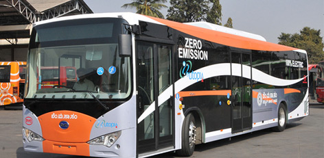 electric busses in tamilnadu