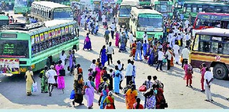 Live Chennai: 4 More bus terminus to be operational to cater to Diwali  needs,bus terminus,bus terminus chennai,diwali bus terminus,setc,CMBT,  Koyambedu,special buses,Koyambedu bus stand,Poonamallee bus stand,Tambaram  Sanatorium,traffic,Saidapet bus depot