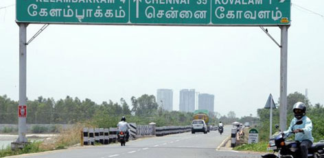 Live Chennai Curves To Go At Ecr Ecr Chennai Land Acquisition Four Laning Of The Road Tamil