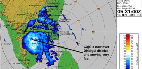 Live Chennai: Cyclone Gaja Update - Tamil Nadu Weatherman