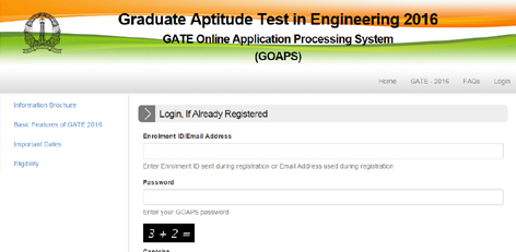 Live Chennai: Registration for Graduate Aptitude Test in