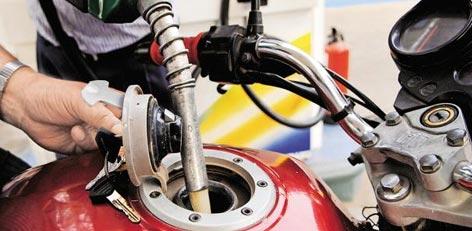 april petrol price