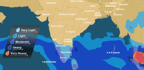 Weather Map Chennai Live Chennai: Chennai Rains forecast for next 10 days,Chennai