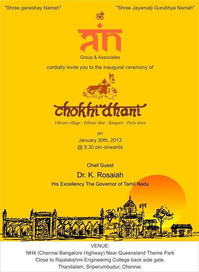 Chennai: Chokhi... Queensland Chennai