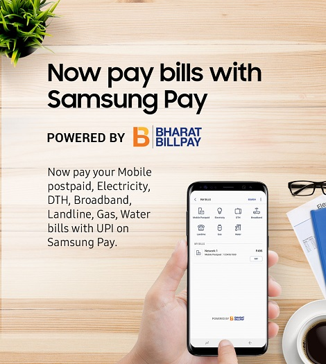 Live Chennai: Samsung India Introduces 'Bill Payments' on