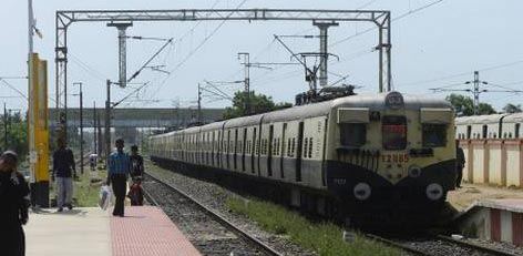 Live Chennai: Changes in the pattern of suburban train