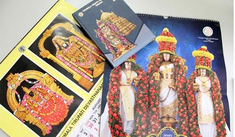 Live Chennai: Buy TTD Calendar 2019 now online,Tirumala Tirupathi